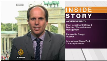 jochen wermuth interview aljazeera